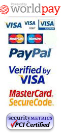 Secure PCI Compliant credit card payments by Worldpay