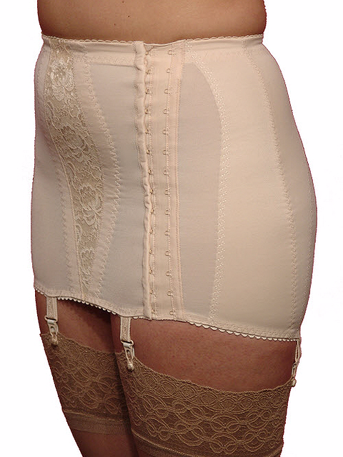 9c5a1b66b6b Open Bottom Girdle with Hook Sides up to Dress Size 28